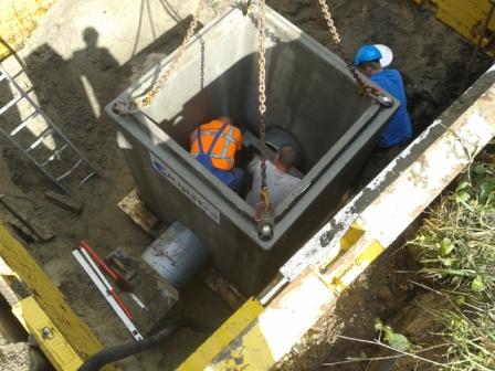 Inspectieput riolering
